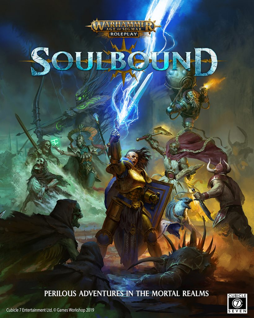 Soulbound Cover - Cubicle 7