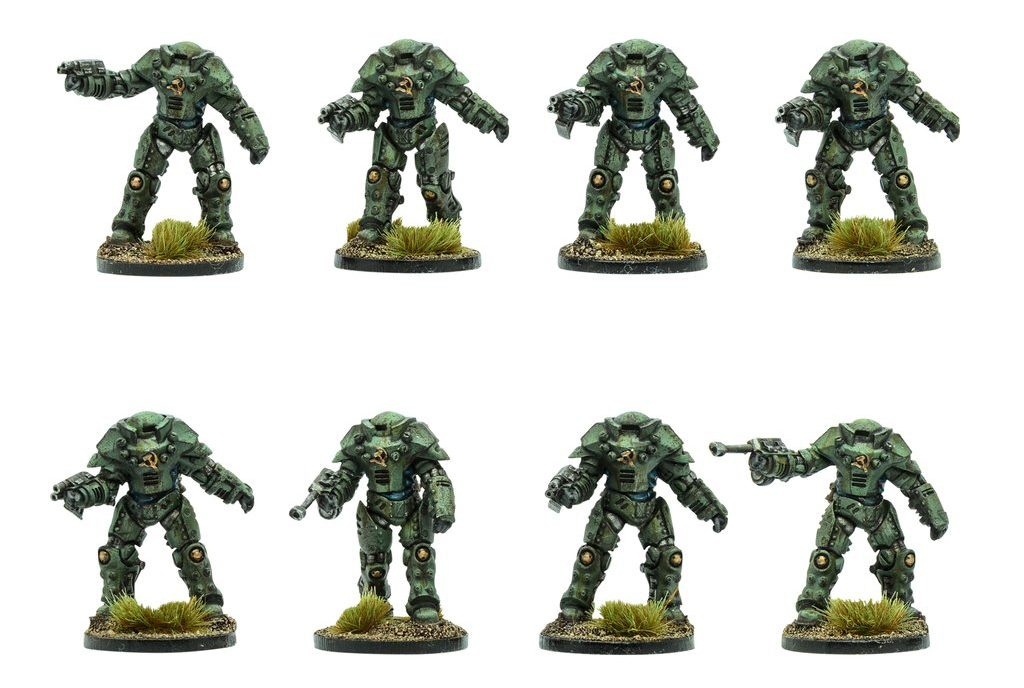 Soviet Heavy Infantry MKII - Warlord Games