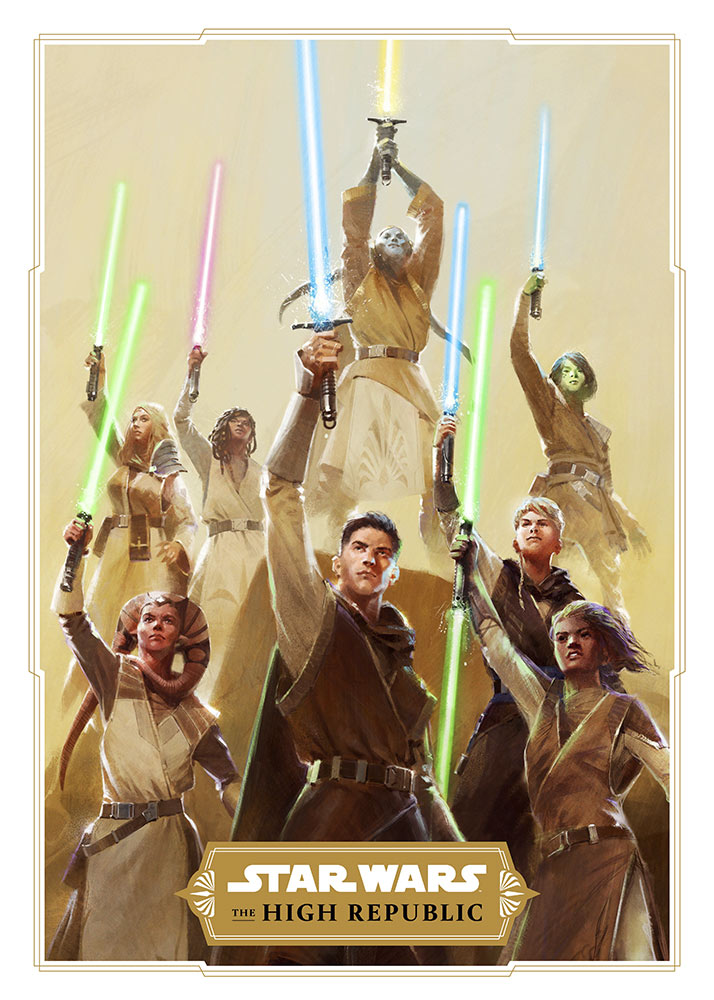 Star Wars The High Republic Art