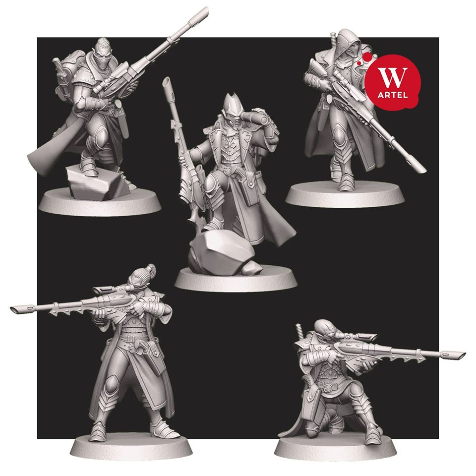Starborn Ancients Outcasts - Artel W Miniatures