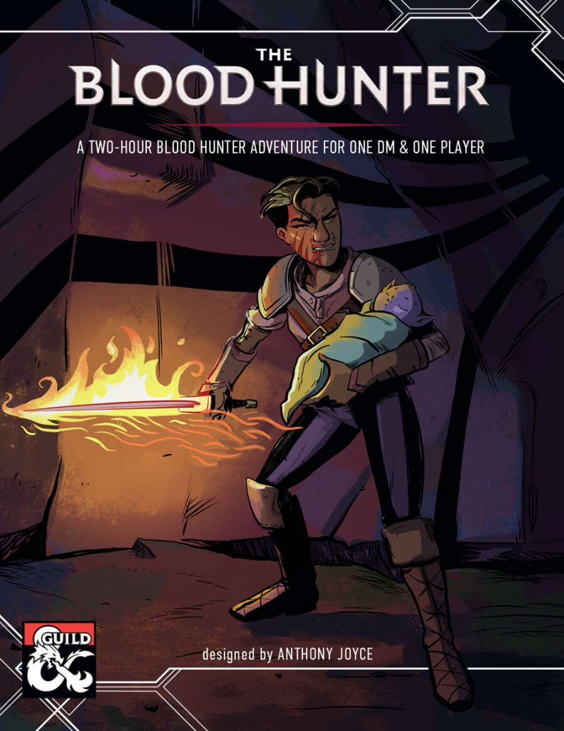 The Blood Hunter Cover