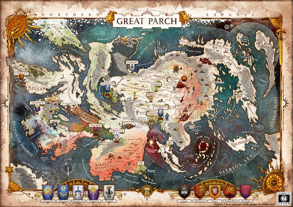 The Great Parch Map - Cubicle 7