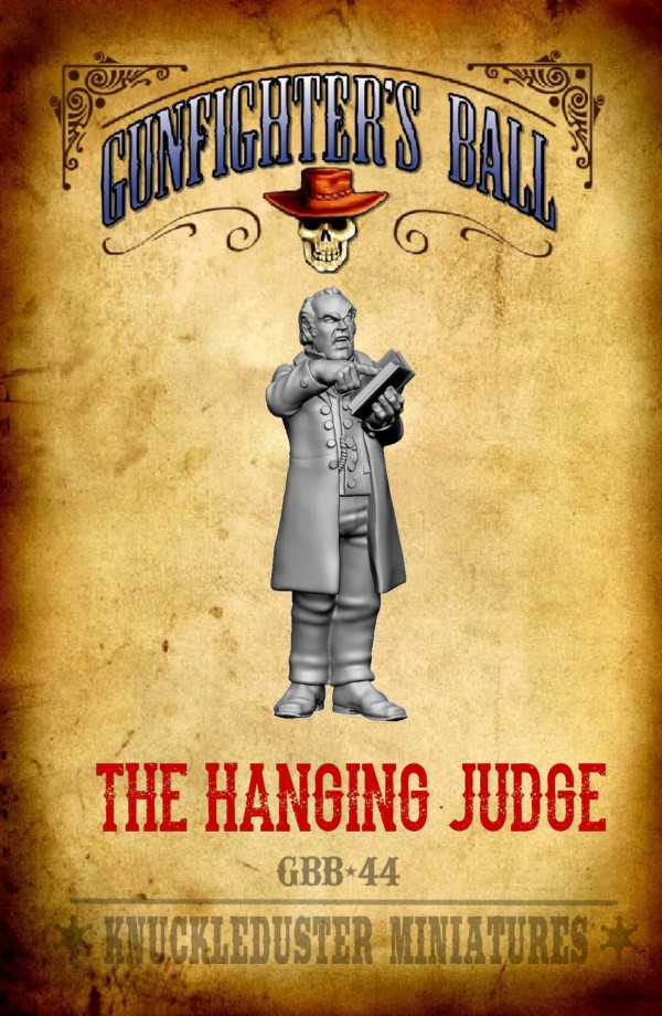 The Hanging Judge - Knuckleduster Miniatures