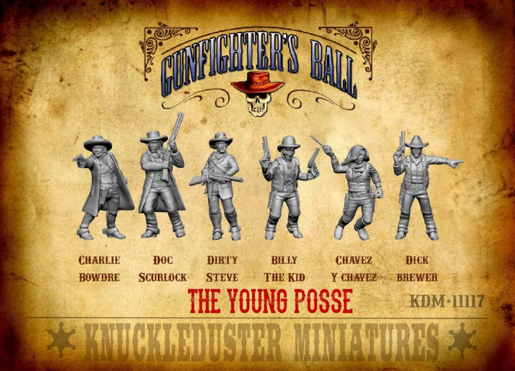 The Young Posse - Knuckleduster Miniatures