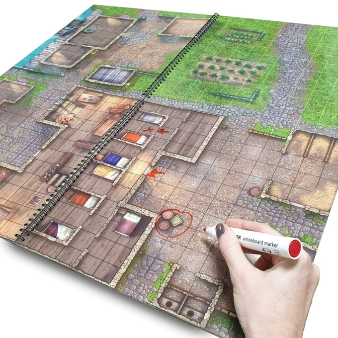 Towns & Taverns Rewritable - Loke Battle Mats