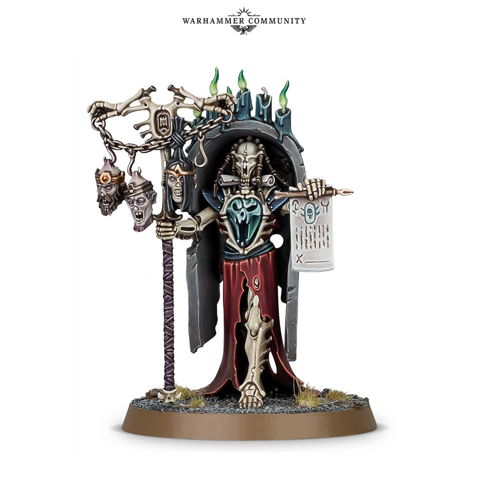 Vokmortian Master Of The Bone Tithe - Age Of Sigmar