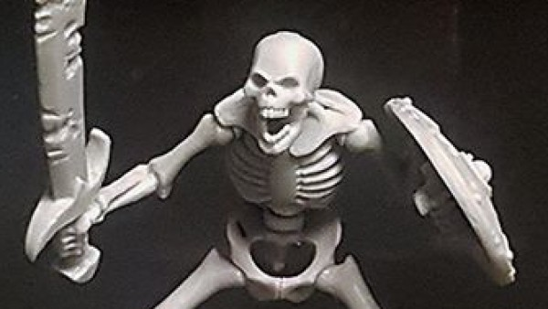Heresy Miniatures Preview BIG Skeletons For Kickstarter