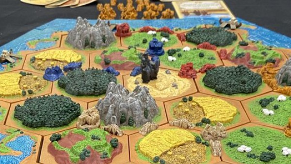 Limited Edition CATAN 3D Coming Back To The Tabletop