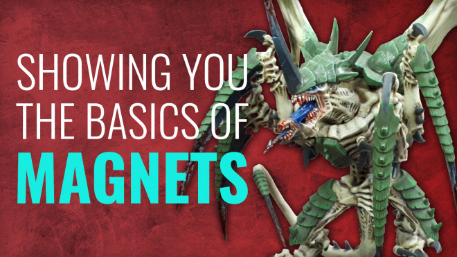 Gerry Can Show You How To Magnetise Miniatures