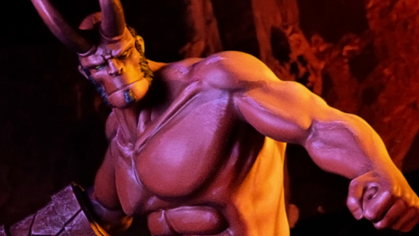 Mantic Games & Dark Horse Reveal Stunning Hellboy Statue