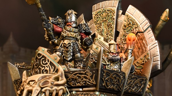 A Mighty Hellfane Leads Mantic's New Abyssal Dwarf Army