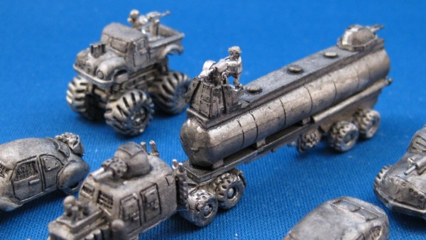 Microworld Explore A Tiny 6mm Wasteland With New Vehicles
