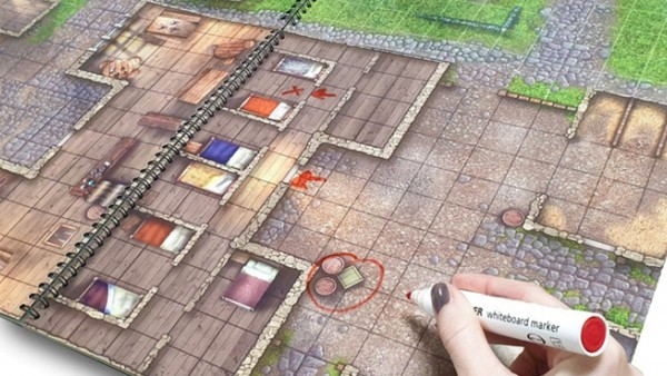 Loke BattleMats Head To Towns & Taverns On Kickstarter