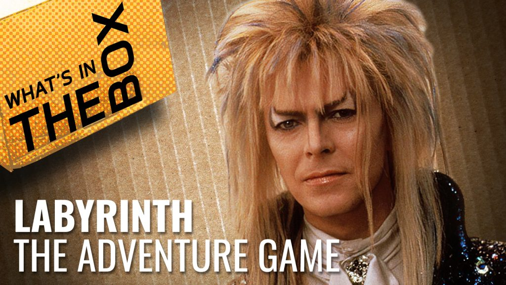 Unboxing - Labyrinth The Adventure Game | River Horse