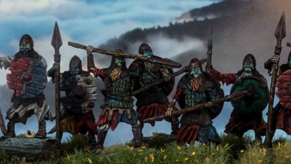 Stronghold & Tabletop-Art Collaborate On Undead Norsemen!