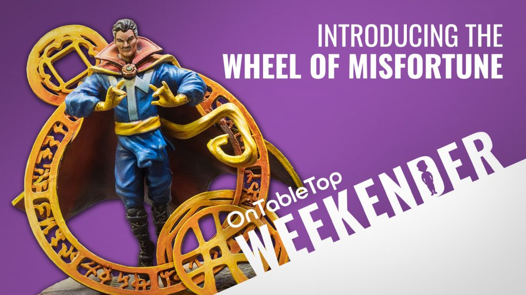 Weekender: Justin's Wheel Of Misfortune & WIN Chaos Space Marines!