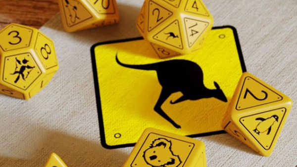 Help Plant Trees With New Q-Workshop Australian Wildlife Dice