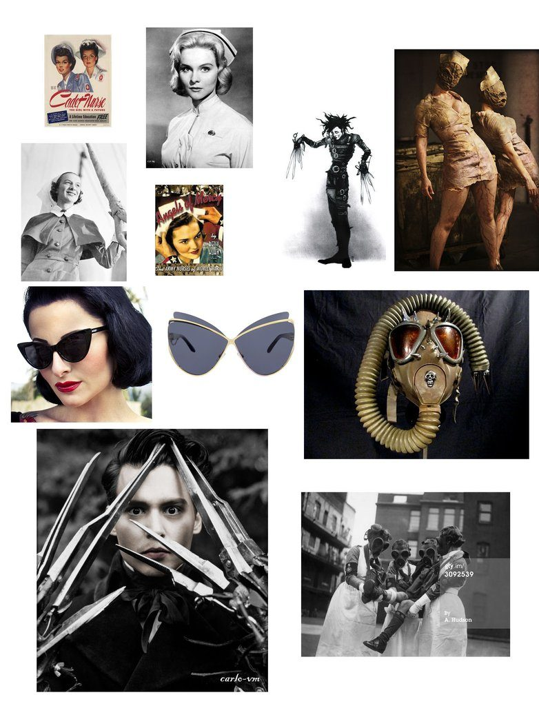 The moodboard that inspired Dr Von X