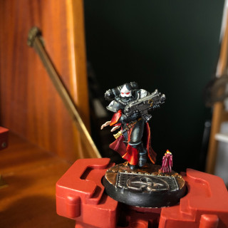 I WANT IT PAINTED BLACK ~ PAINTING THE BLACK ARMOUR