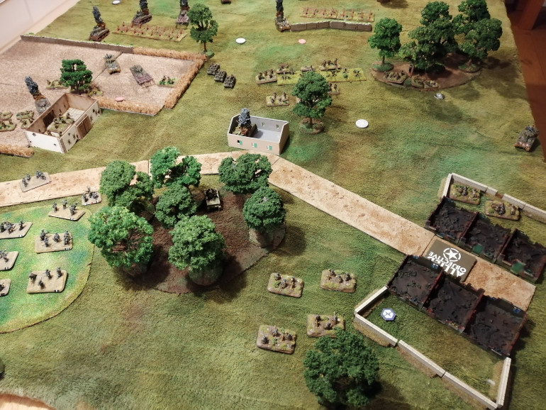 State of play at the end of Turn 7 from the German perspective