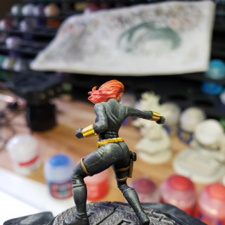 Black Widow complete. Work started on Iron Man.