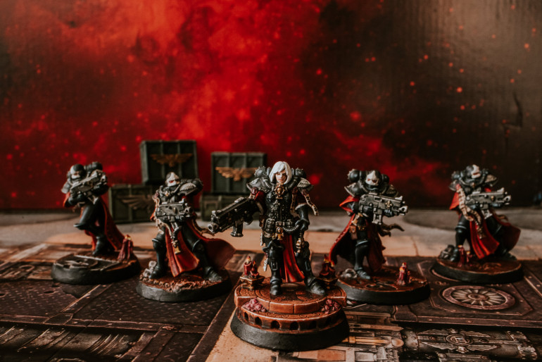 PURGE THE UNCLEAN ~ PRESENTING THE FIRST 5 SISTERS OF BATTLE