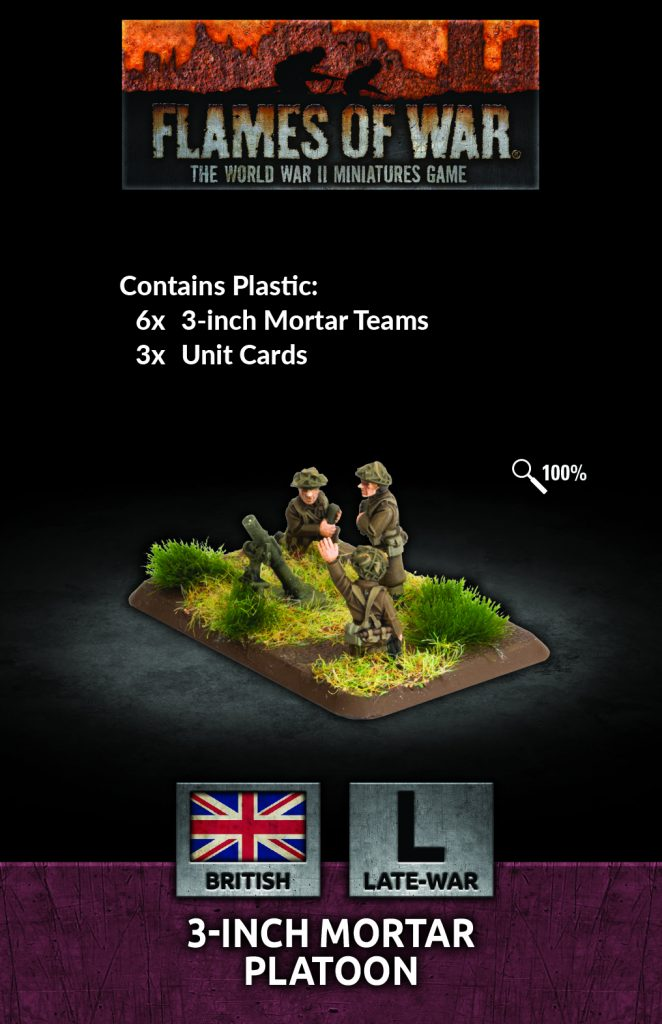 3-inch Mortar Platoon - Flames Of War