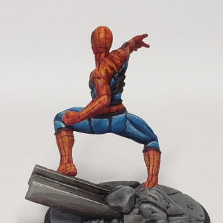 New Spiderman pics with proper background.