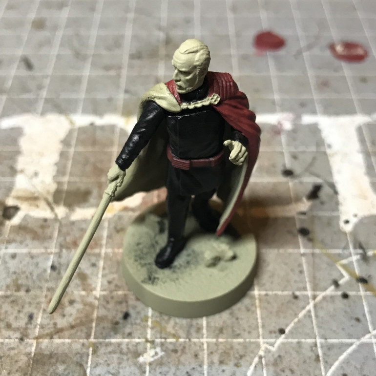 Painting the Count - Part 1
