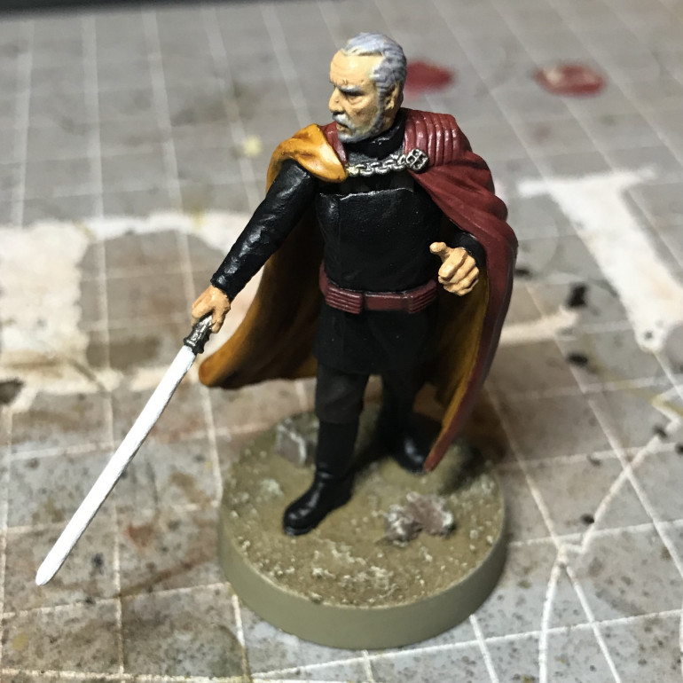 Count Dooku - Part 2: Shading and Highlights