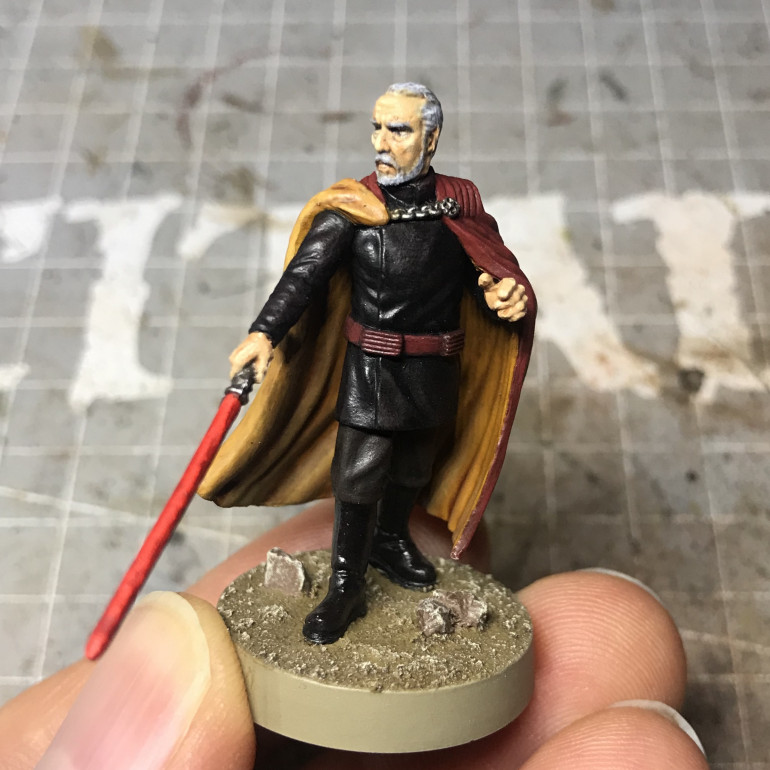 Count Dooku - Part 4: Face and Hands