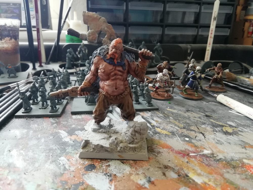 Re-painting my Ogre A Spring Clean Challenge by Thedace