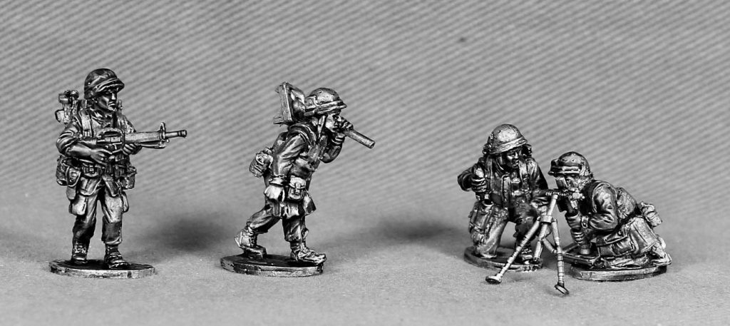 60mm Mortar Crew - Empress Miniatures