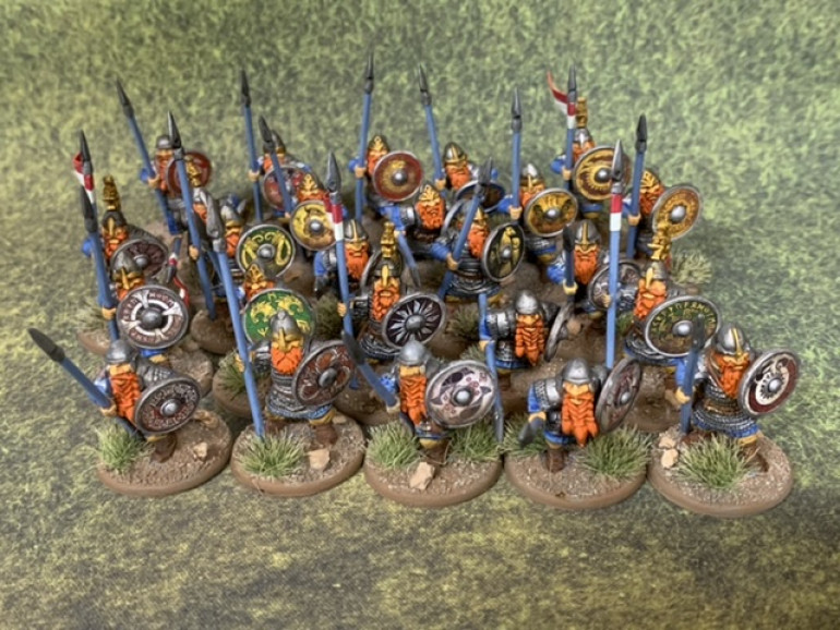 Here's all the Spearmen together.