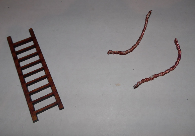 Rope and ladder
