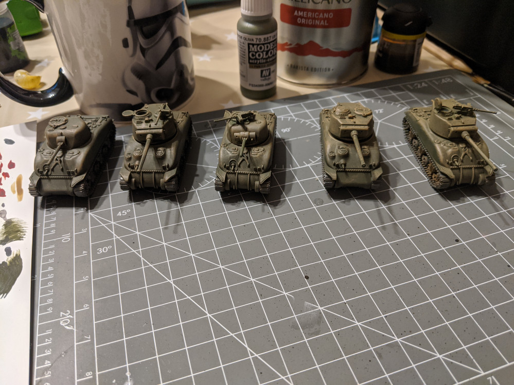 Flames of War US army build.