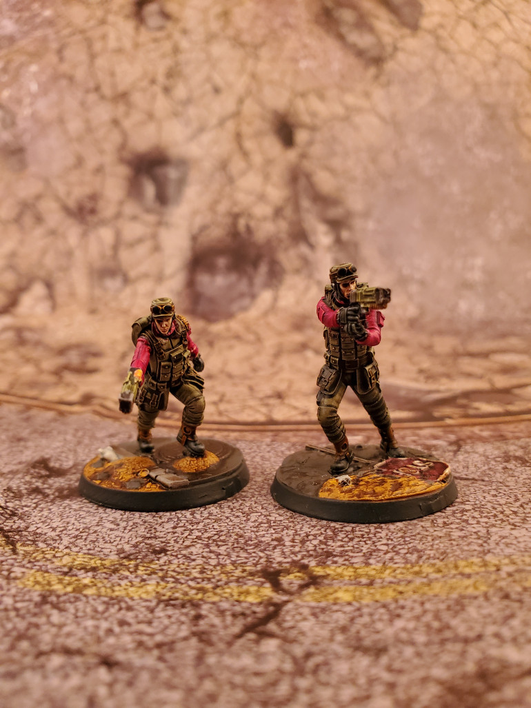 First up you have the Scribes, these guys may not be as flashy as their armored brethren but they are the workhorses when it comes to objective based play.