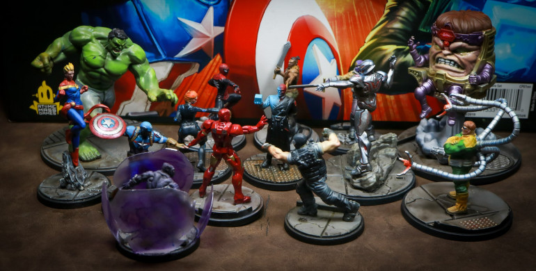 Marvel Crisis Protocol Core Set All Paint and Wave 1