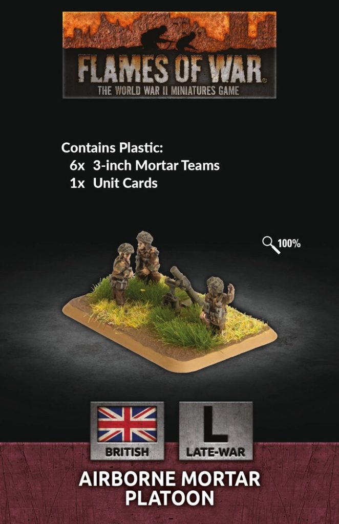 Airborne 3-inch Mortar Platoon - Flames Of War