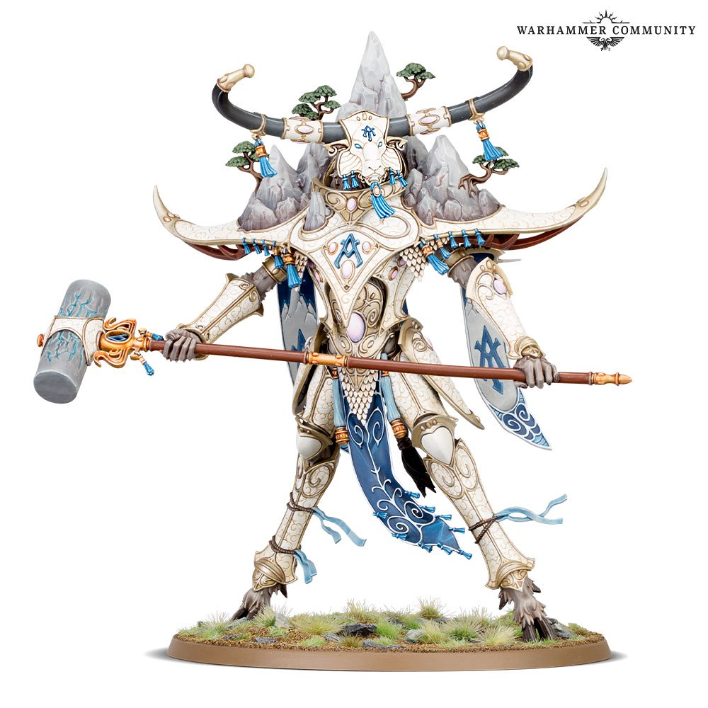 Alarith Spirit Of The Mountain - Age Of Sigmar