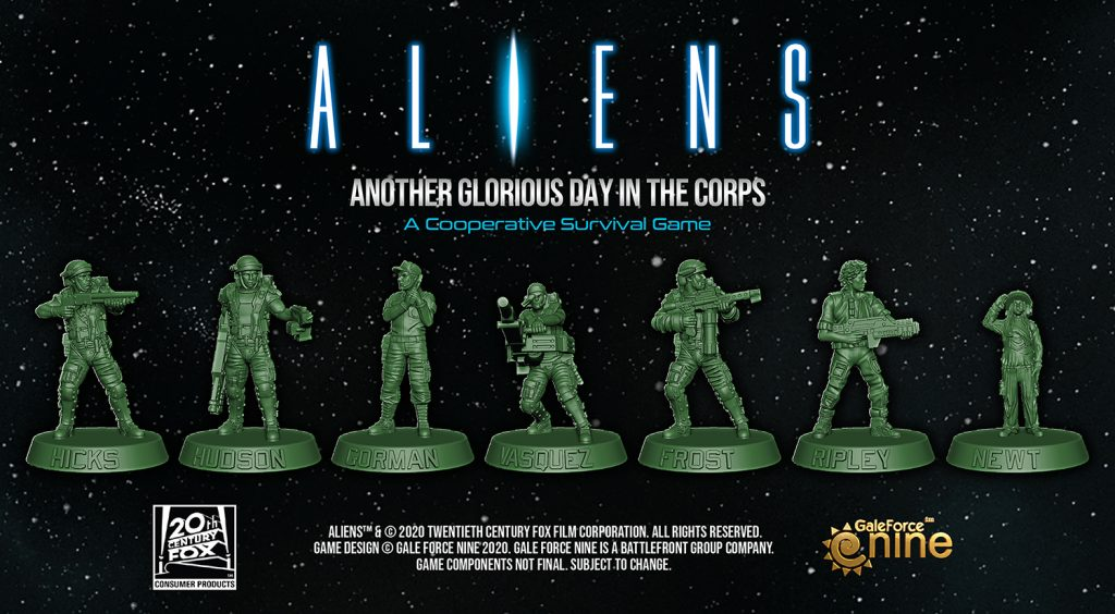 Aliens Miniatures - Gale Force Nine