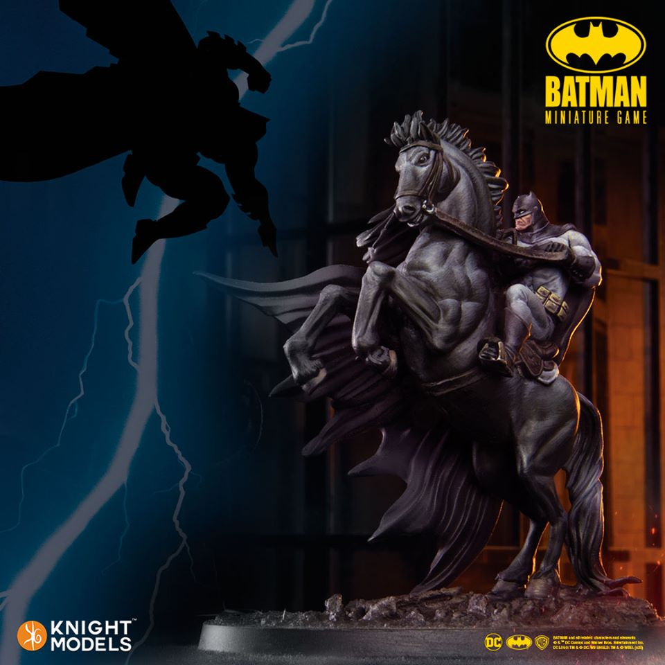 Batman Mounted April - Knight Models