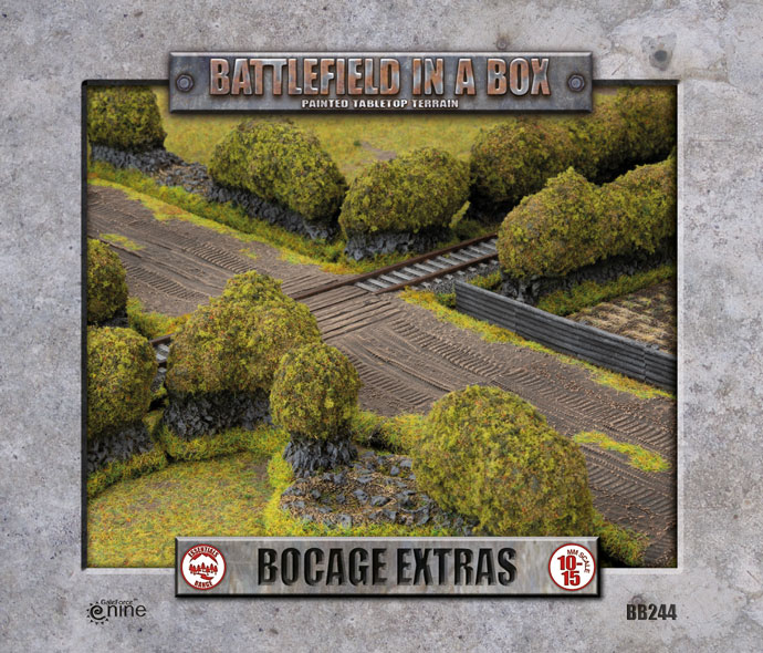 Battlefield In A Box Bocage Extra - Flames Of War