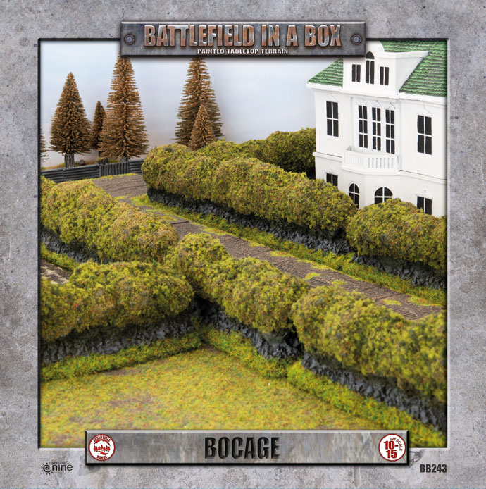 Battlefield In A Box Boccage - Flames Of War