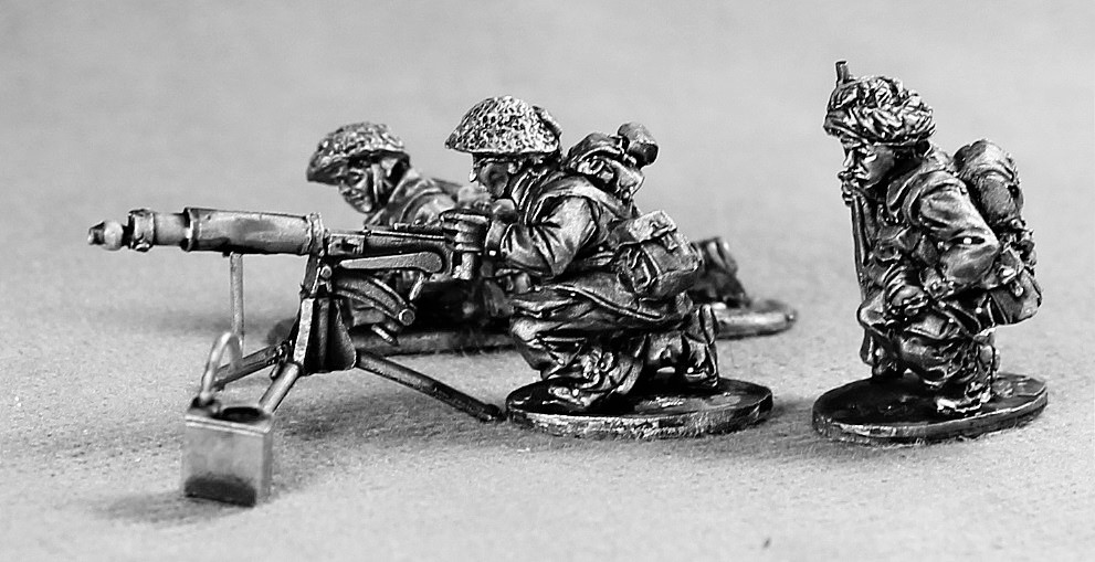 British Late War Vickers Team - Empress Miniatures