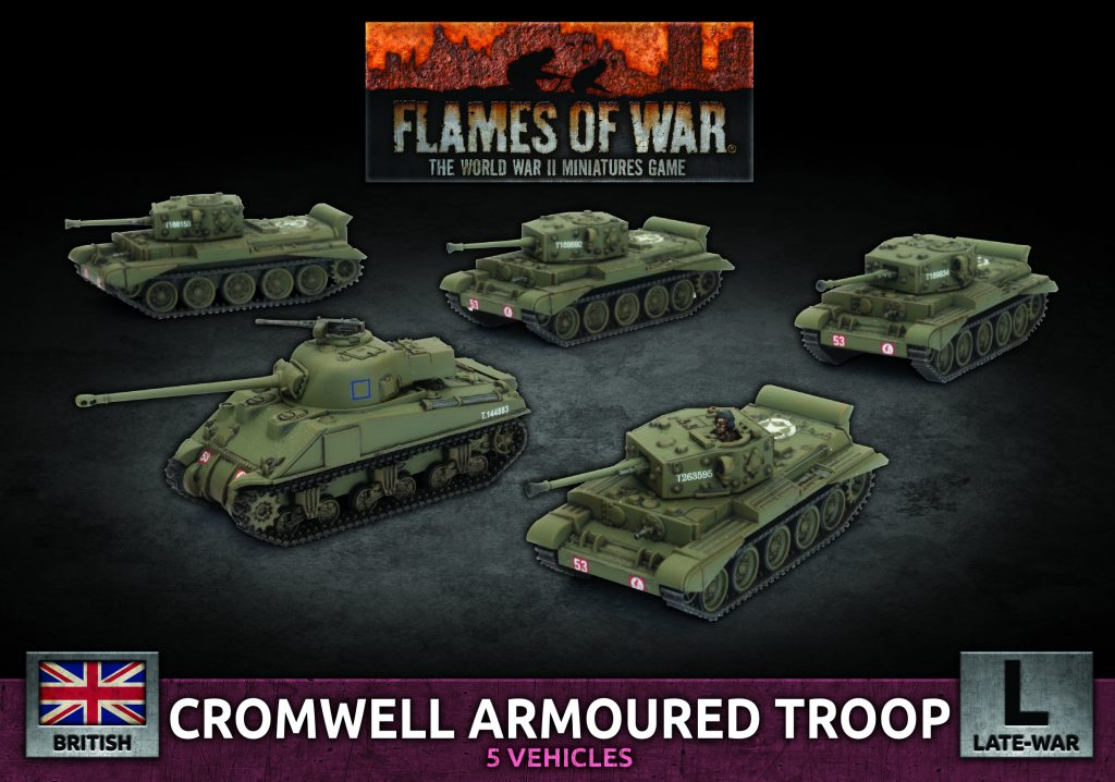 Cromwell Armoured Troop - Battlefront Miniatures