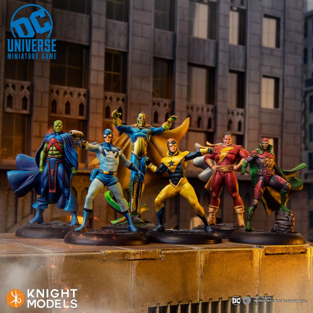 DC Character - Knight Models