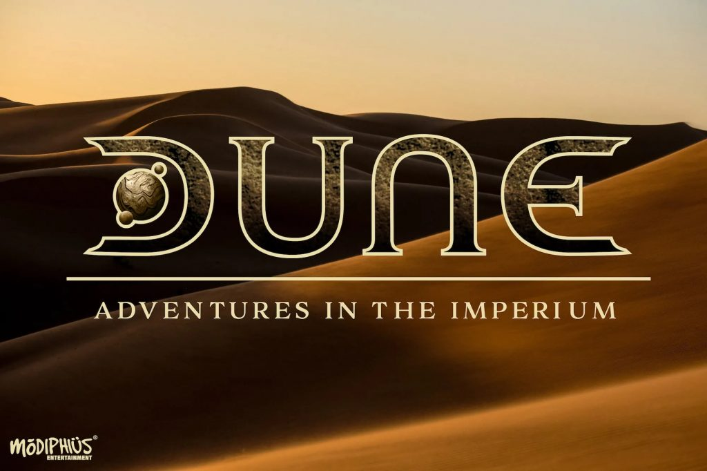 DUNE Adventures In The Imperium - Modiphius