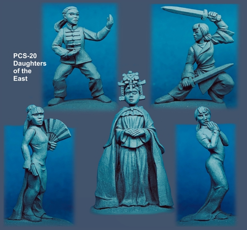Daughters Of The East - Pulp Figures
