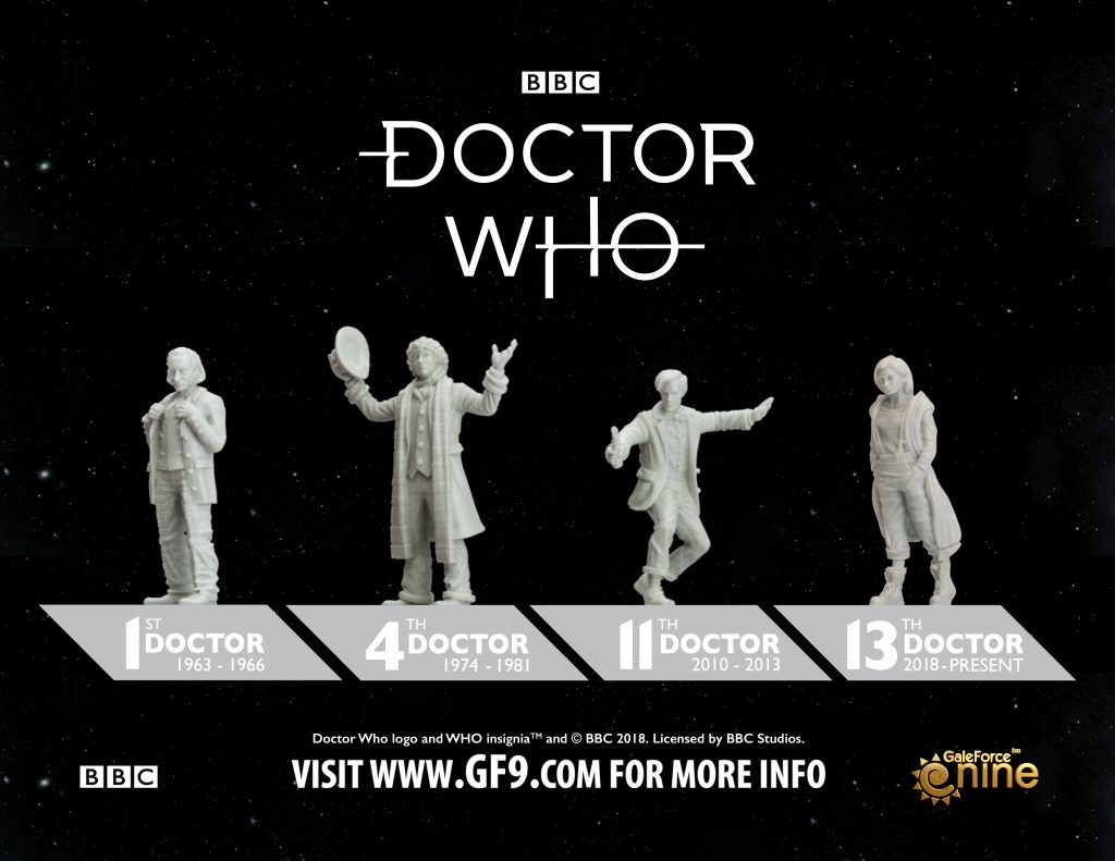 Doctor Who 13th Doctor Core Set Miniatures